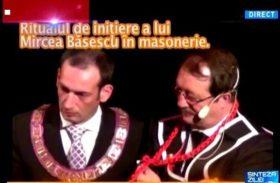 Initiere a lui Mircea Băsescu în masonerie!