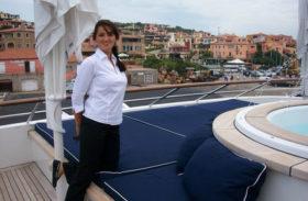 O româncă este marinar pe yahtul șeicului din Qatar