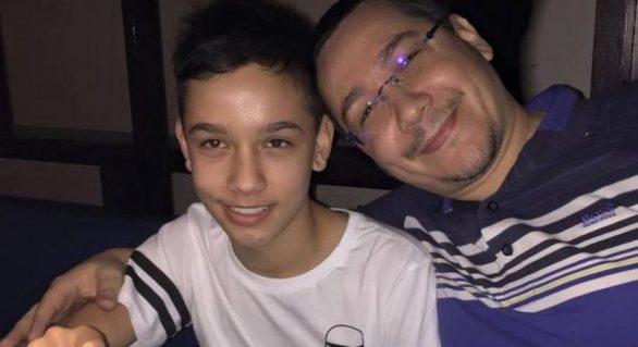 Andrei, fiul lui Victor Ponta, accidentat la un meci de rugby