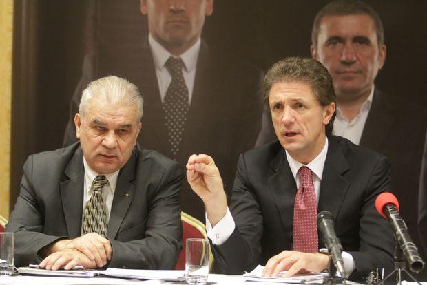 Gică Popescu și Anghel Iordănescu s-au certat la cuțite