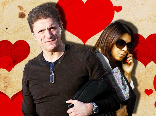 Gică Popescu + Denise Rifai = LOVE