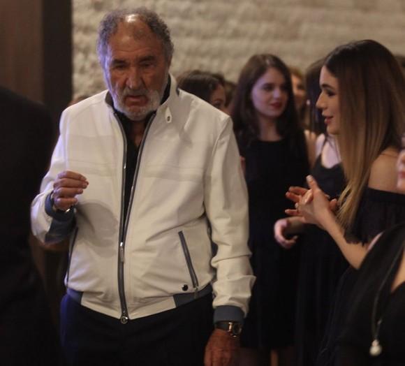 Prima apariţie publică a lui Ion Ţiriac cu fiica superbă!